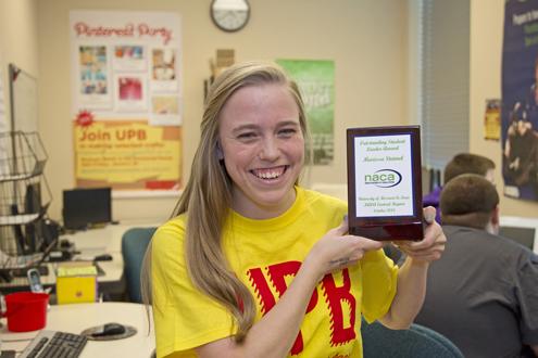 UMSL student Marissa Steimel