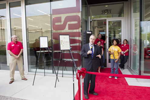 Chancellor Tom George at UMSL at Grand Center