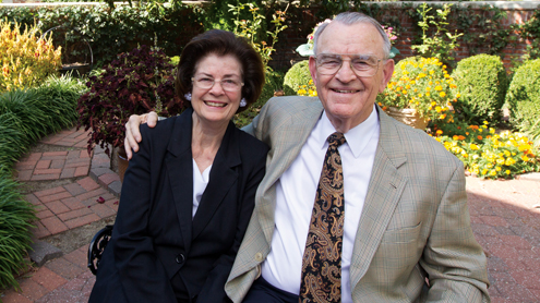 Will and Hellen Carpenter's love of education leads to long relationship with UMSL