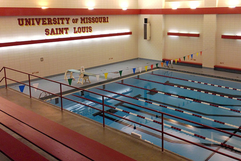 Swimming at UMSL