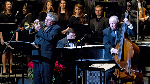 UMSL caps yearlong Jubilee with holiday jazz concert
