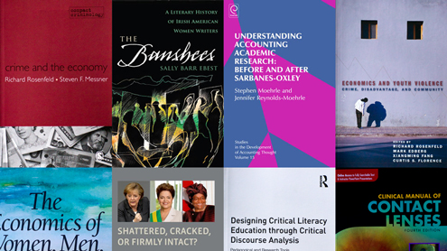 In print: Recently published books by UMSL faculty