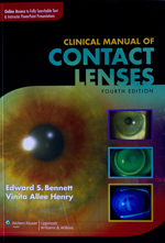 """Clinical Manual of Contact Lenses"" by UMSL's Edward Bennett and Vinita Henry"