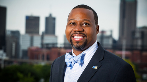 From foster care to CEO: UMSL alumnus leads St. Louis to brighter future