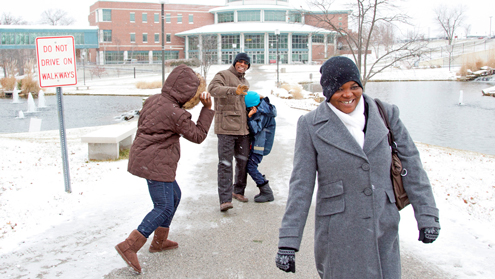 Eye on UMSL: First snowball