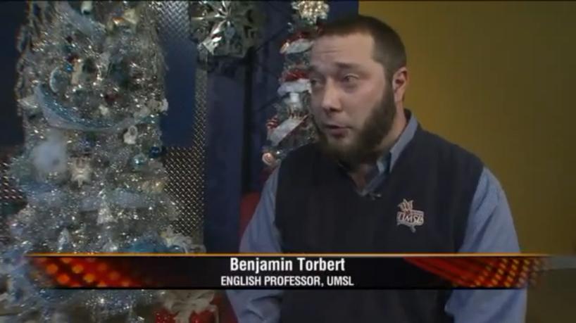 Benjamin Torbert, associate professor of English at UMSL