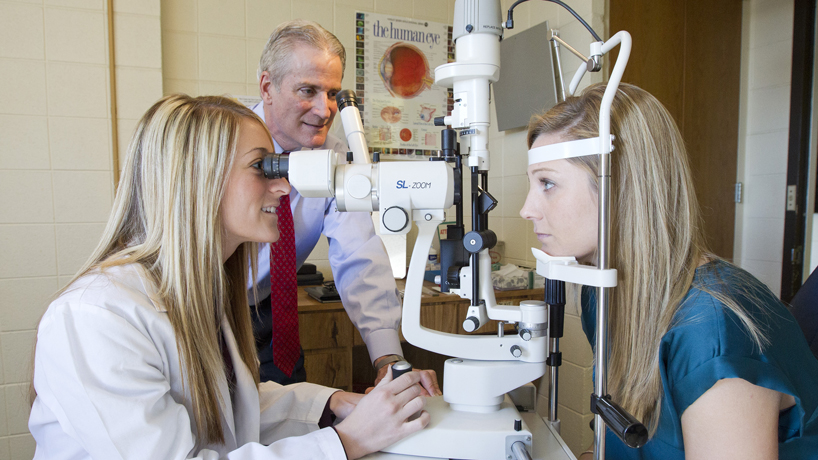 Optometry students' push for new facilities results in Patient Care Center