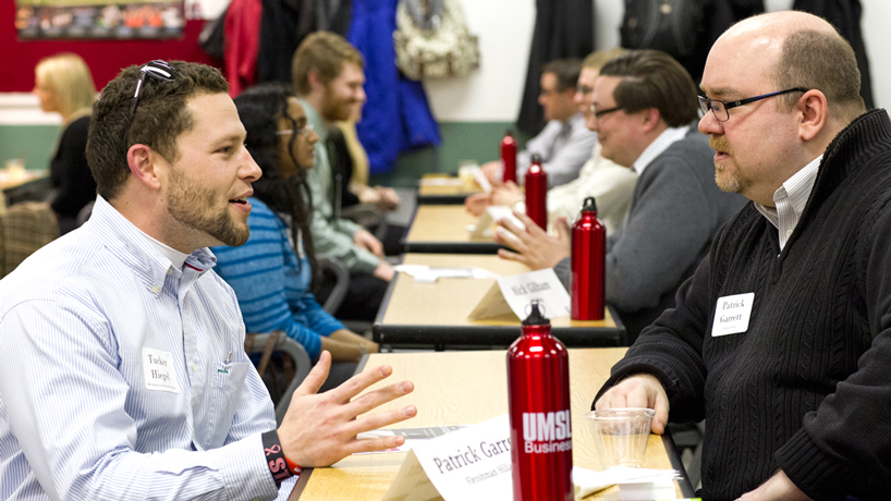 Eye on UMSL: Speed networking