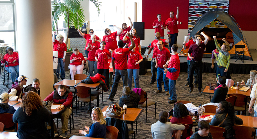 Eye on UMSL: Flash mob