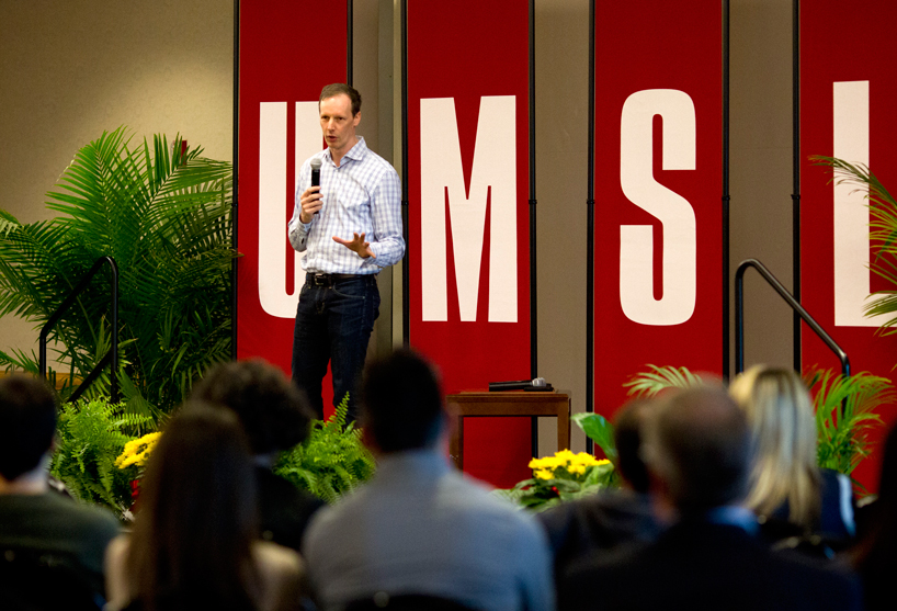 Co-founder of Square, LaunchCode speaks at UMSL