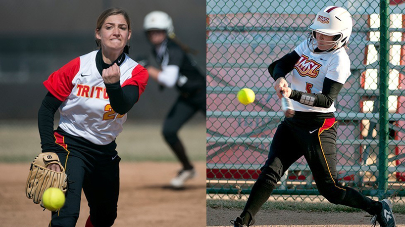 Softball sweeps weekly GLVC Awards; Perryman, Boudreau honored