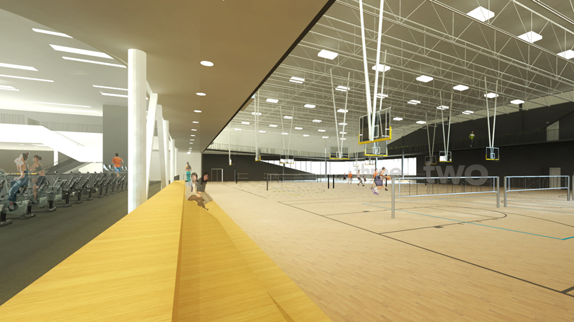 Rec Center will include bells, whistles, climbing wall