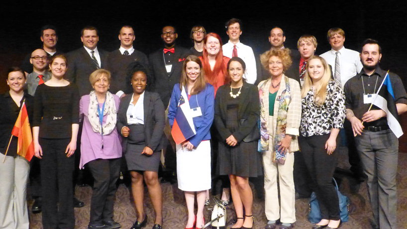 UMSL students place during annual Midwest Model European Union