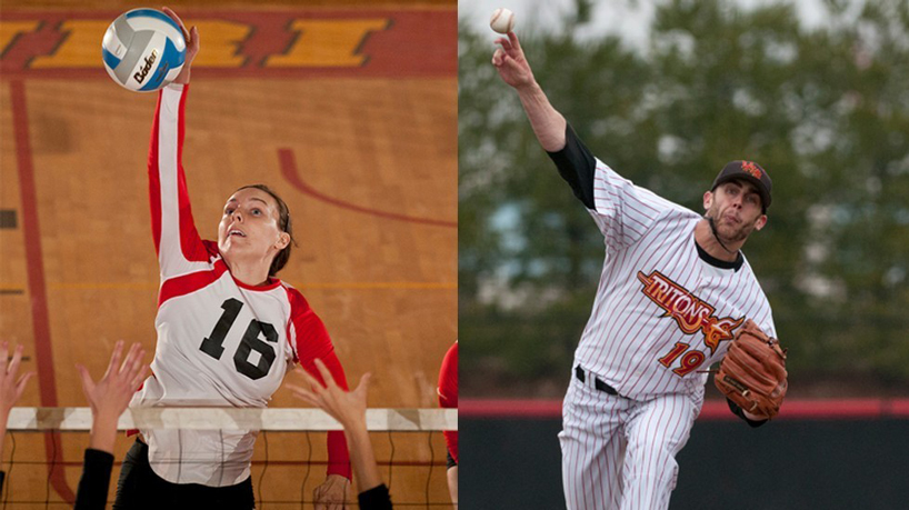 Burkle, Standefer receive 2014 NSCA All-American Athlete Award