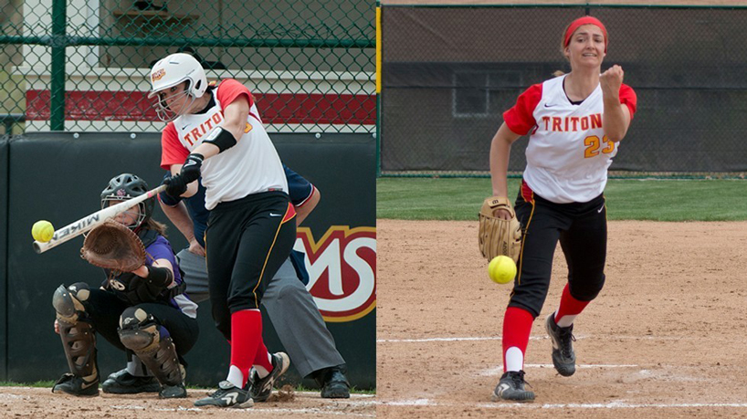 Softball sweeps weekly GLVC awards; Butler, Perryman honored