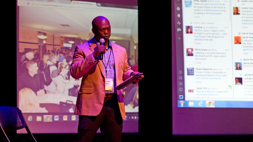 UMSL holds digital, social media conference