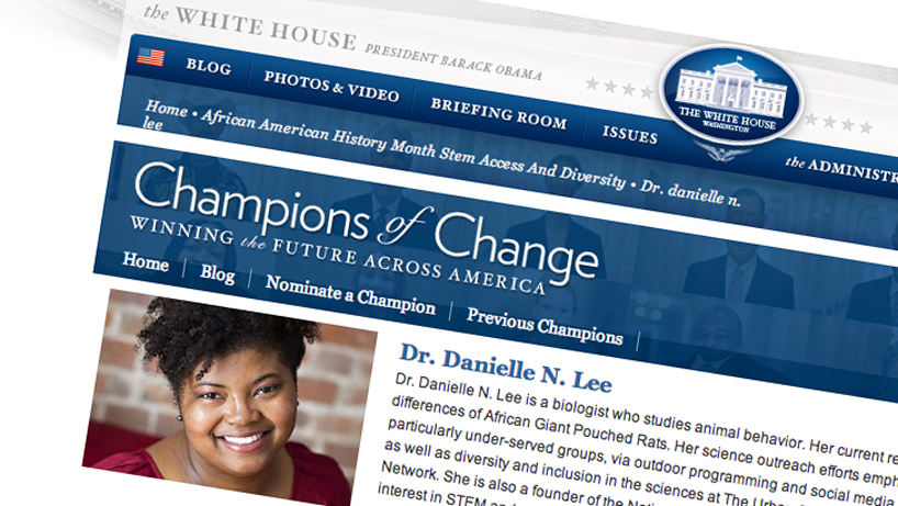 White House honors UMSL alumna for STEM outreach to minorities