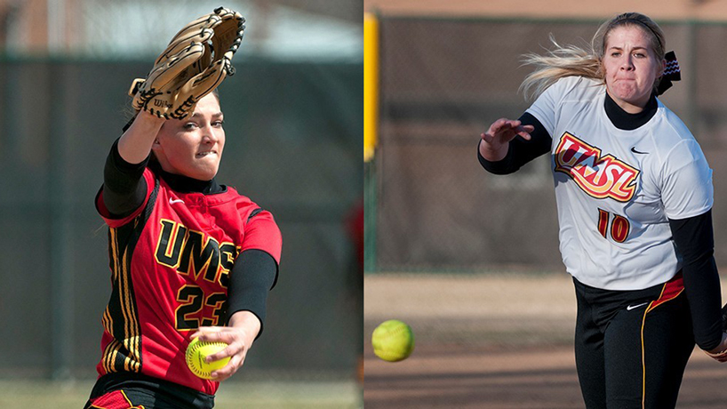 UMSL's dominant pitching duo attracts media attention