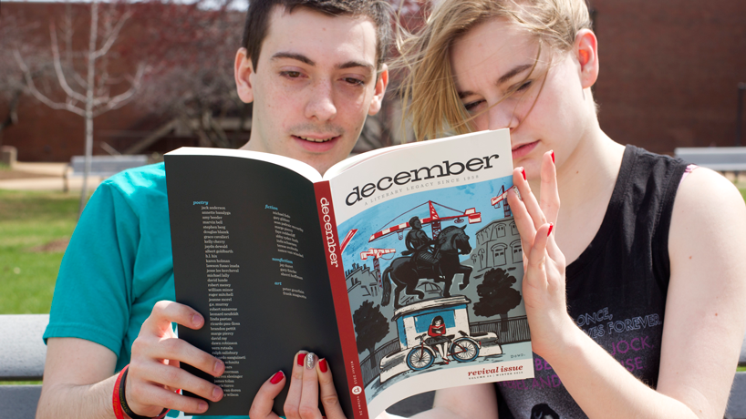 MFA alumna breathes new life into december magazine