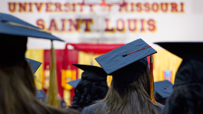 UMSL commencement: 5 ceremonies, nearly 1,600 graduates, 6 honorary degrees