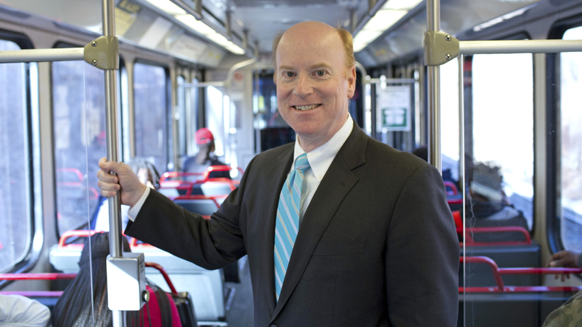 Alumnus rides successful law, political careers to Metro Transit chief
