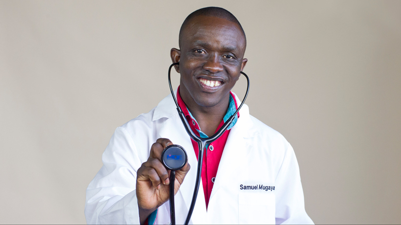 Samuel Mugaya lands nursing job, devoted to helping African homeland