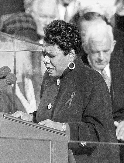 Maya Angelou (Photo courtesy of the White House)