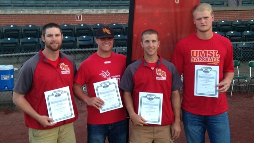 4 earn All-GLVC Baseball Honors for UMSL