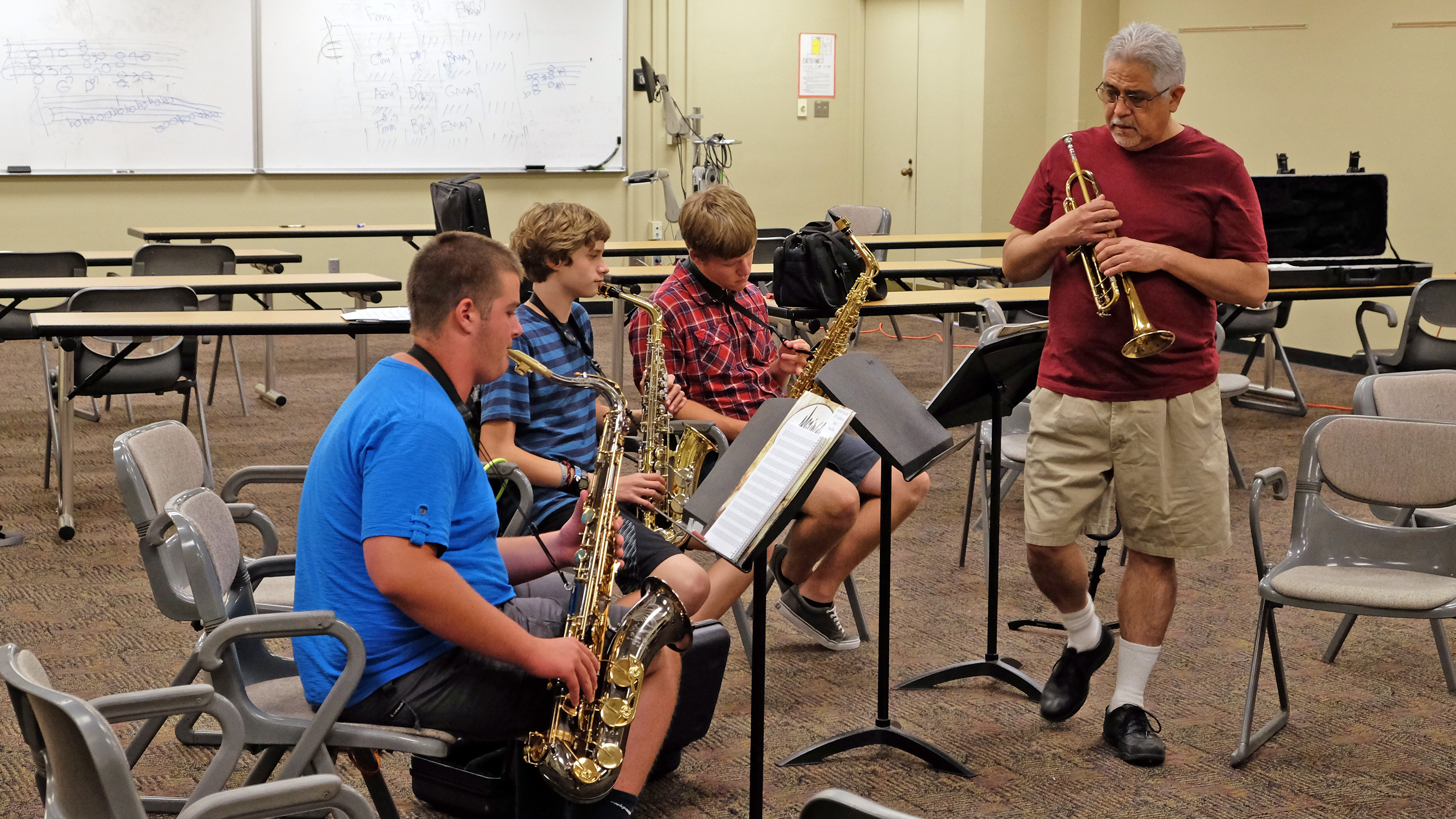 Young musicians flock to Big Band Jazz Camp