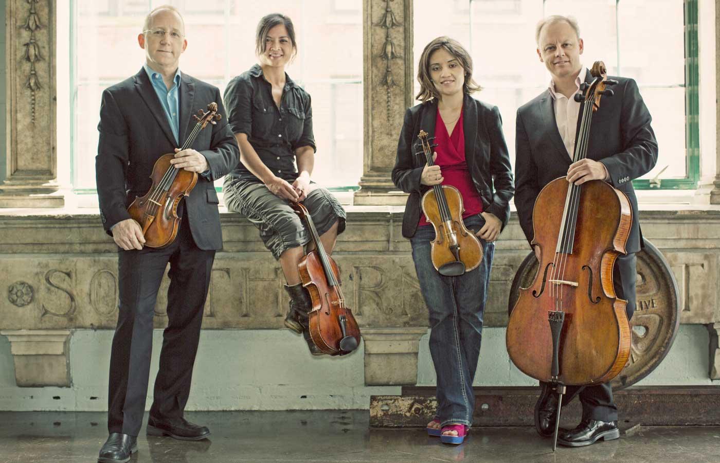 UMSL's Arianna String Quartet