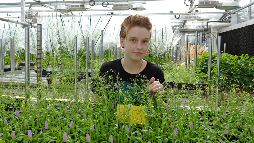Undergrad research grant fosters young scientist's passion