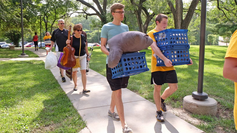 More students opt for on-campus living experience