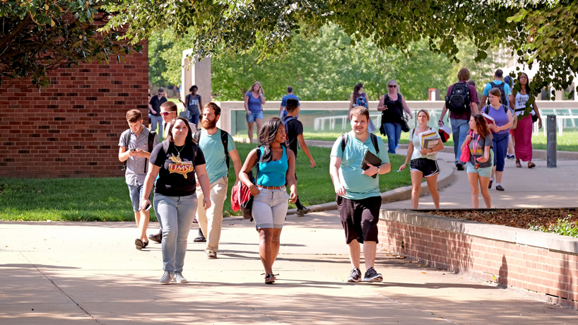 It's a record: UMSL enrollment edges ever closer to 17,000 total students
