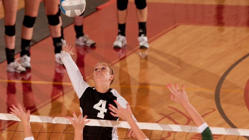 Athletics Q&A with volleyball senior Haley Brightwell