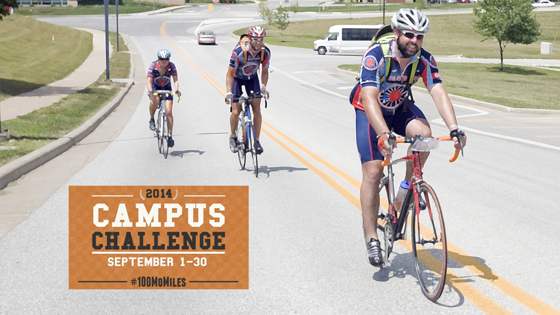 Campus community aims to log 100,000 active miles during September
