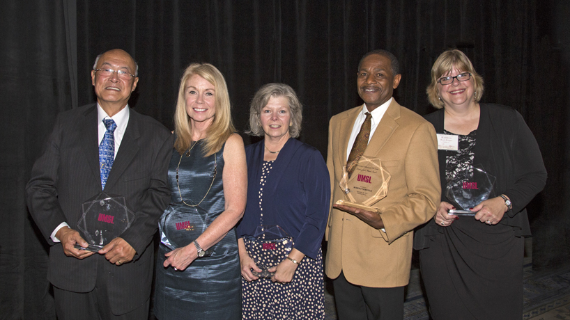 Alumni honorees stand out in chosen fields