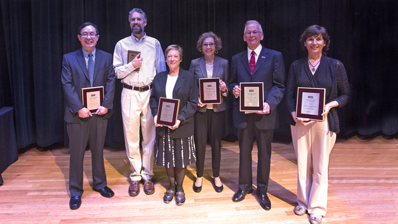 Faculty excellence in teaching, research and service in spotlight