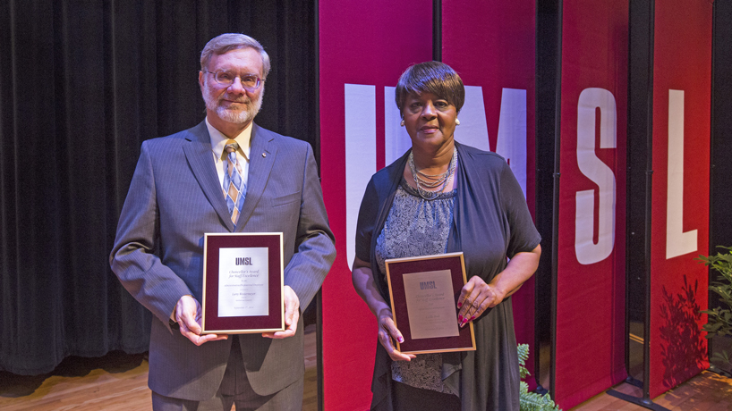 Rash, Torres, Westermeyer honored with Chancellor's Award for Staff Excellence