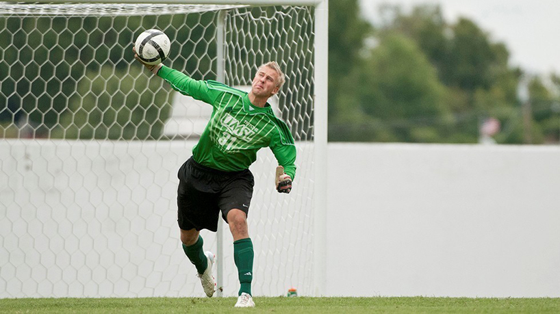 Athletics Q&A with senior goalkeeper Nick Lenkman