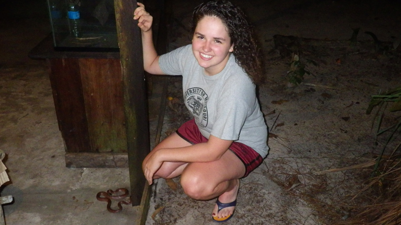 Research grant gives student chance to do fieldwork in Guyana