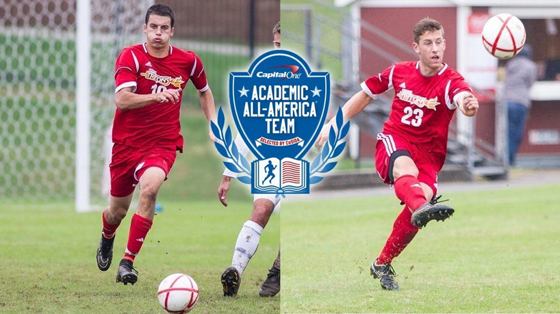 Bednar, Garrad Named to Capital One Academic All-District Team