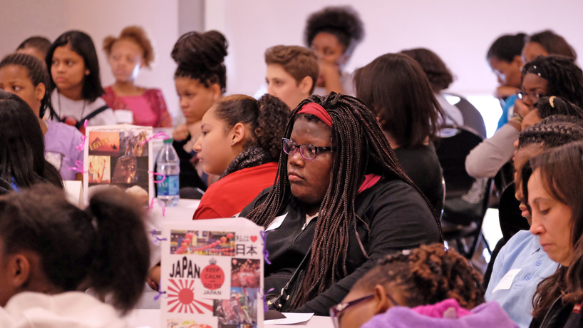 Bright students, inspiring speakers connect at Girls' Summit