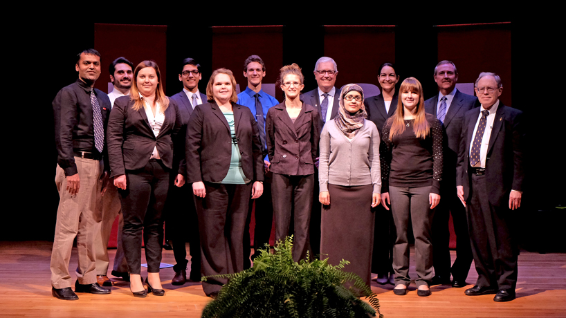 Eye on UMSL: Induction