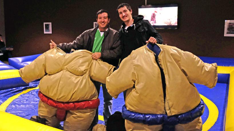 Eye on UMSL: Sumo students