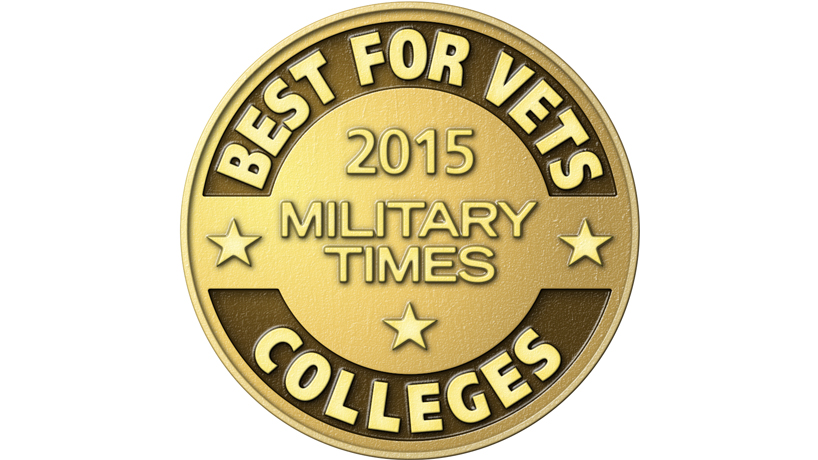 UMSL ranks high on 2015 list of 'Best for Vets' colleges