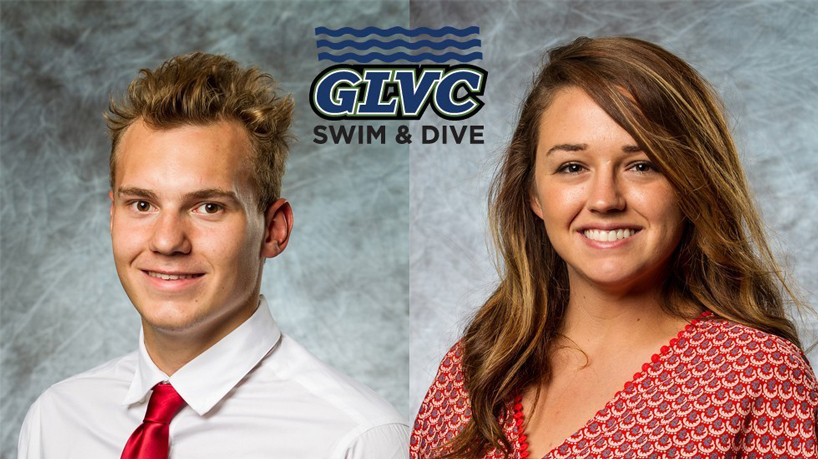 Tritons duo sweeps recent PNC GLVC swimming, diving honors