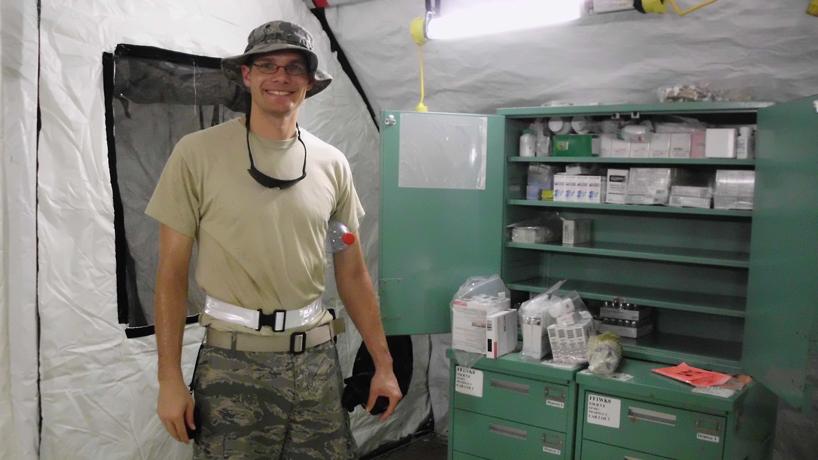 Nursing grad Joe Broeckelmann assists with US response to Ebola
