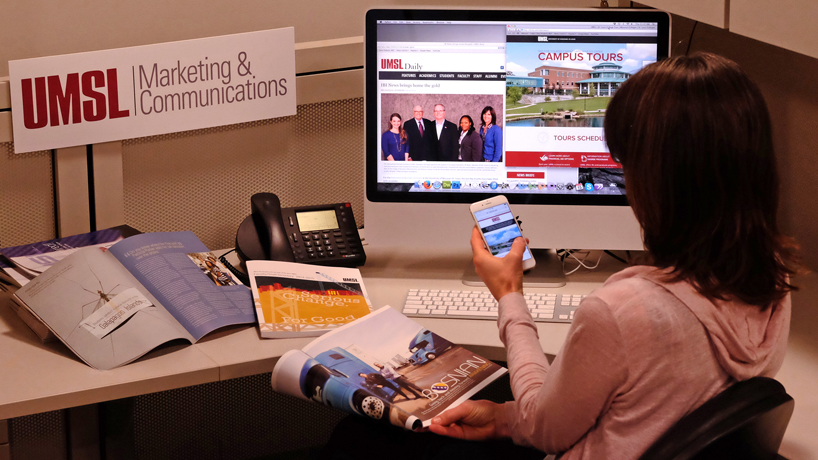 Record 4 UMSL marketing, communications productions win top higher ed honors