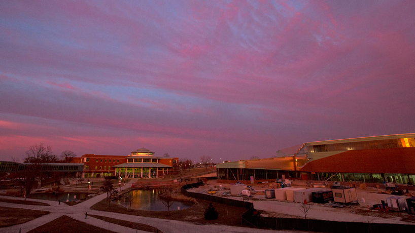 Eye on UMSL: Cotton candy clouds