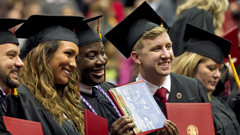 Eye on UMSL: Graduation smiles